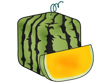 Square Watermelon 6