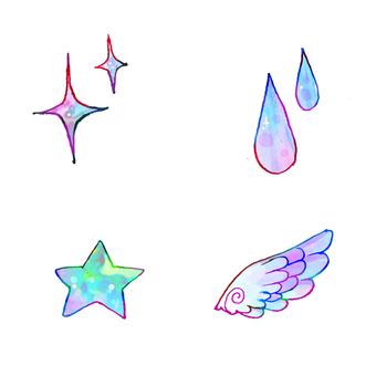 Yumekawa fairy tale mark