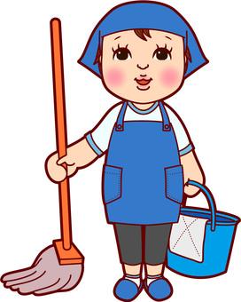 Apron cleaning men