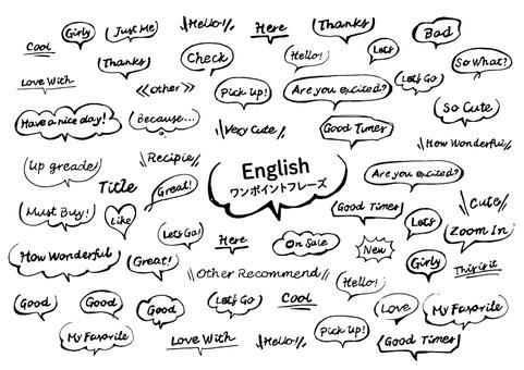 英文單點短語