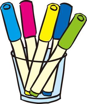 Pens, stationery, magic