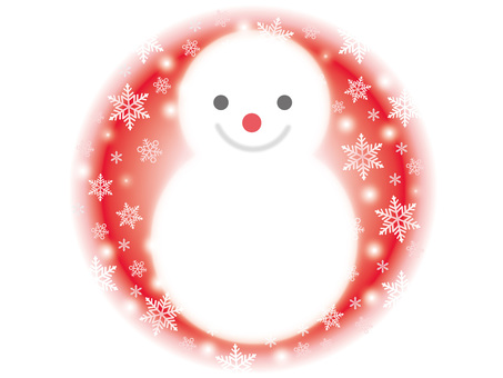 Snowman 1 Red
