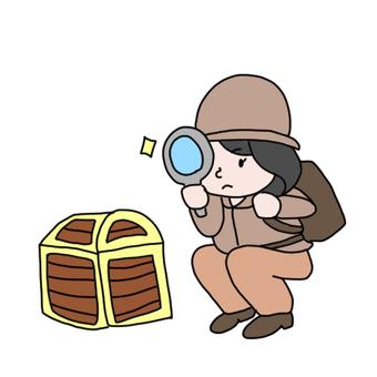 Treasure discovery