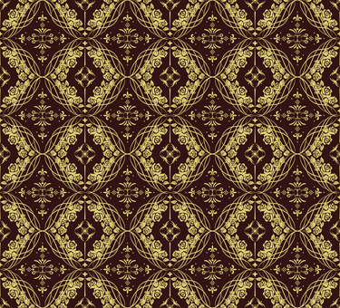 ダマスク織パターン4