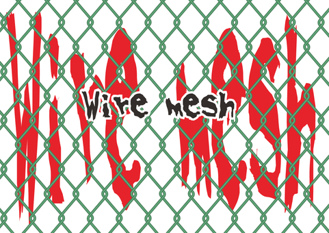 Wire mesh (green)