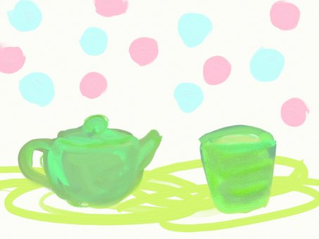 Rough tea illustration
