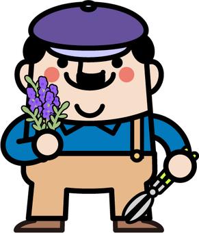Uncle Fairy herb garden gardener