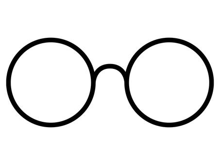 둥근 안경 1
