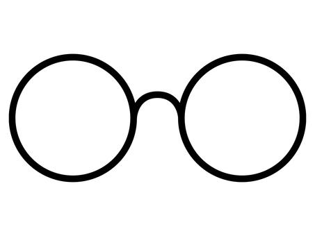 Round glasses 1