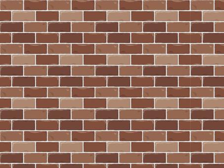 Pattern brick (real / brown mix)