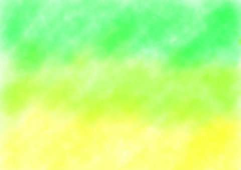 Watercolor background green, yellow
