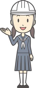 初中水手女人-115-全身