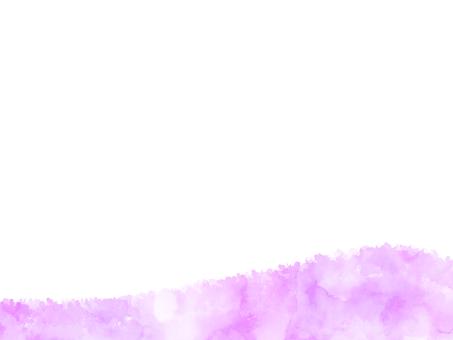 Watercolor texture frame 2 purple