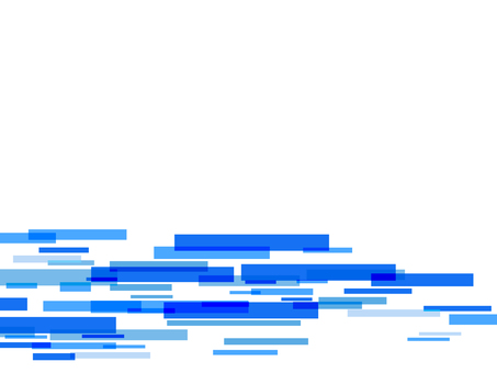 藍色方形背景