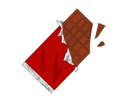 碎盤巧克力