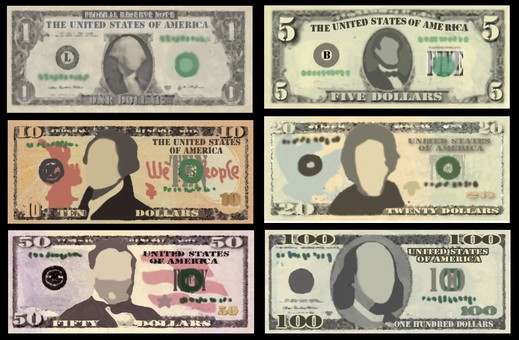Dollar banknote list 01