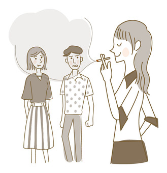 Tobacco smoking / female