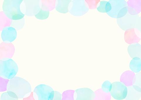 Polka dot frame 5