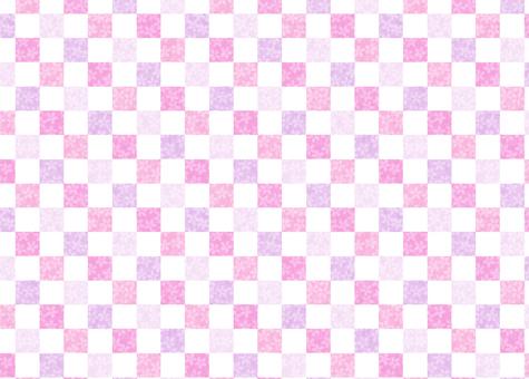 Cherry checkered multicolor ①