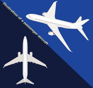 Passenger plane plane 2