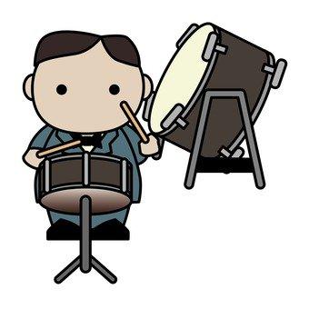 오케스트라 타악기 연주자