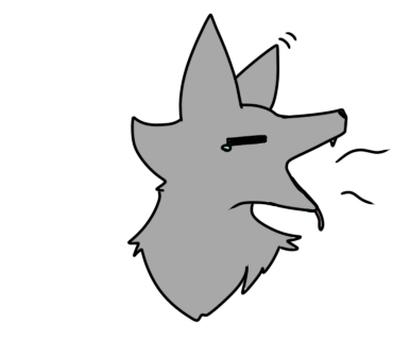 졸린 늑대