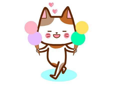 아이스크림 고양이 씨