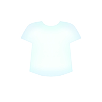 White T-shirt (without outline)