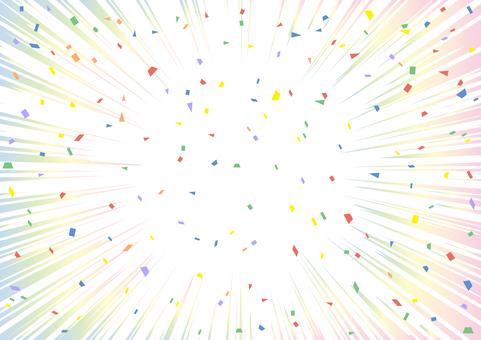 Confetti Concentrated Line