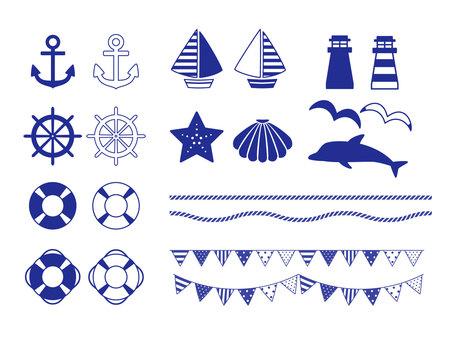 Marine material set