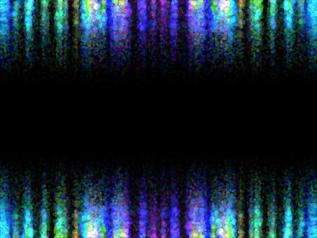 Curtain 3 (bubble frame)