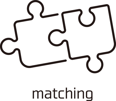 Matching image icon