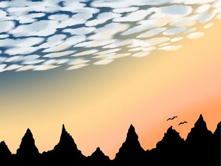 Scales cloud 0001 - dusk