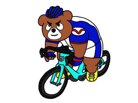 Road bike bear