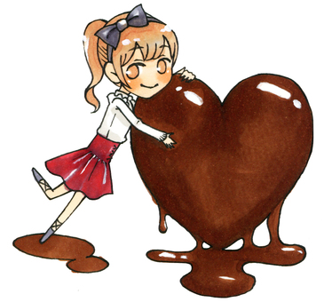 巧克力和女孩01