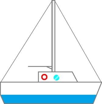 Sailboat without sail