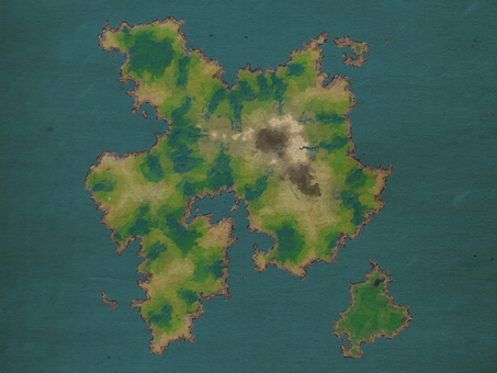 Game field map