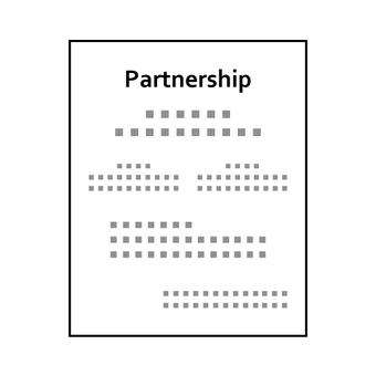 Image of partnership certificate