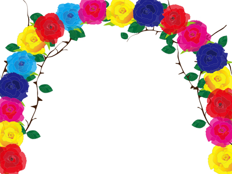 Flower Arches (Roses)