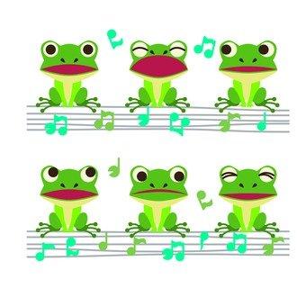 青蛙大合唱