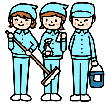 Cleaning staff 1