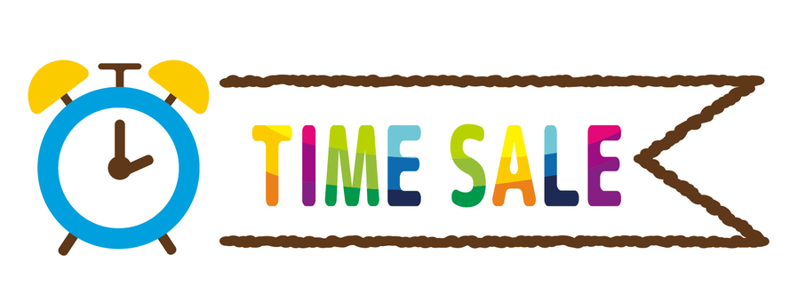 Time sale banner