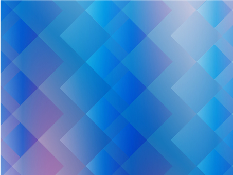 Rhombus graphic (blue & pink)