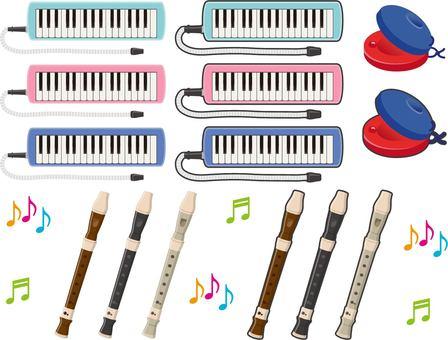 Educational instrument set