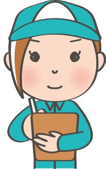 Worker Female _ Inspection