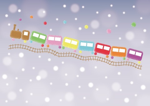 Fairy tale snow train 3