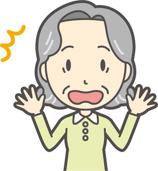 Elderly Bob Female - 104 - Bust