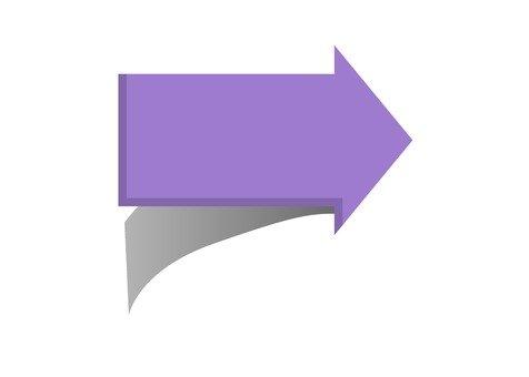 右矢印(紫)