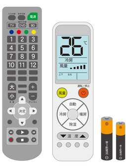 Remote control and dry battery