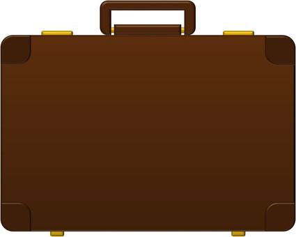Attache case (brown)